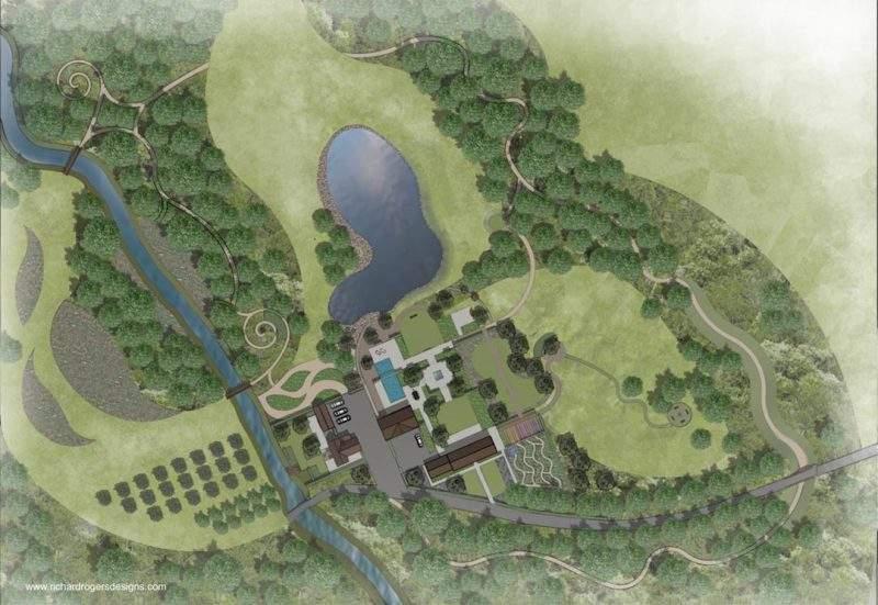 health and wellbeing concept garden design masterplan