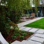 garden design with an intriguing view